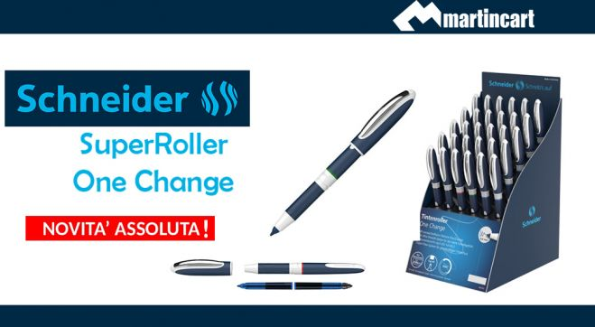 SCHNEIDER One Change THE SUPERROLLER!!!