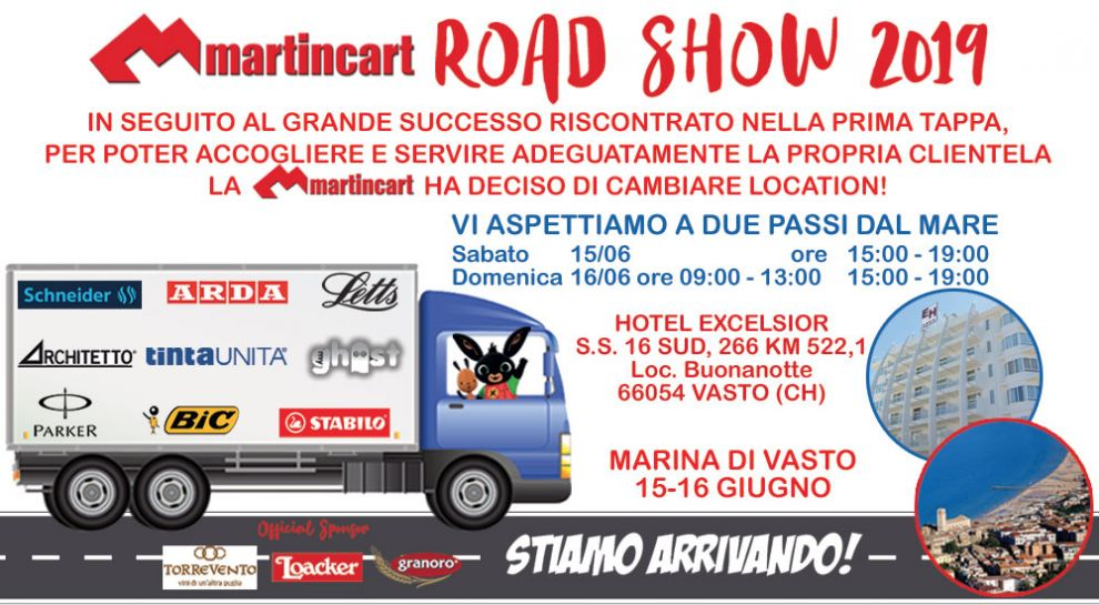 MARTINCART ROAD SHOW 2019